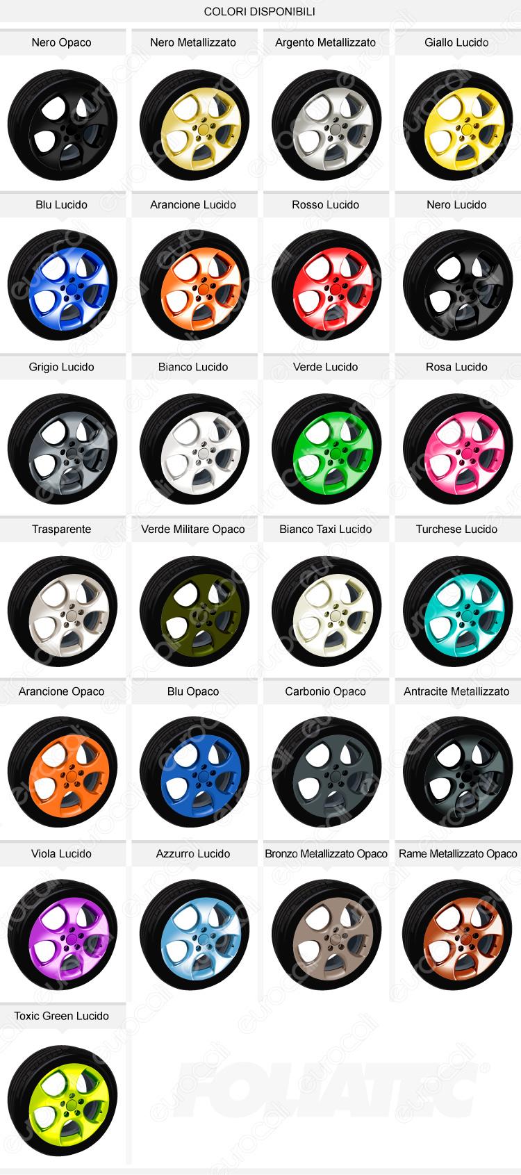 colori cerchioni