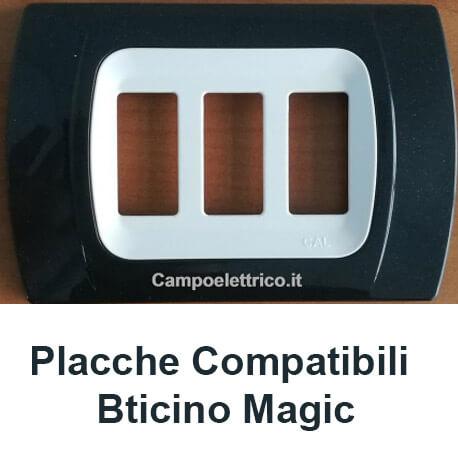 placche compatibili Bticino Magic, Prezzo e Prezzi per Vendita Online, Migliori Offerte e Promozioni sul Web