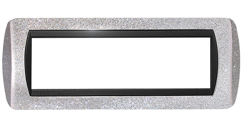 placca compatibile international argento bticino living prezzo