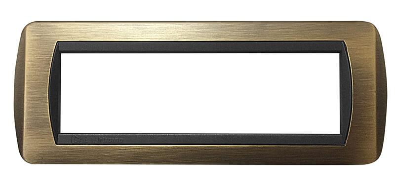placca compatibile international ottone miglior offerta per modello 7 moduli