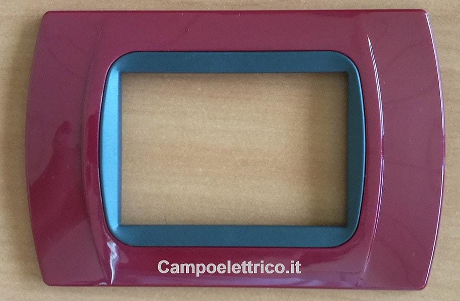 placchette interruttori compatibili con serie civile bticino amaranto alla miglior offerta economica