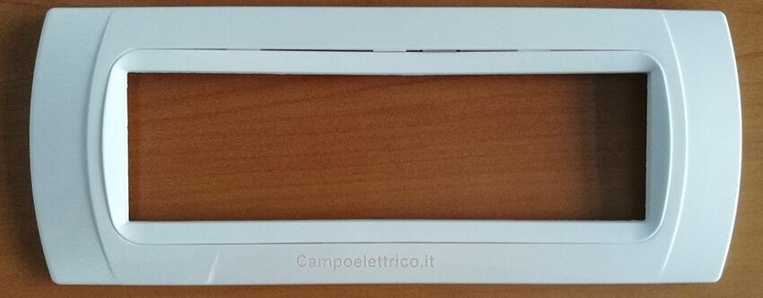 placche compatibili colorata di bianco, ottimo design, economica prezzi bassi