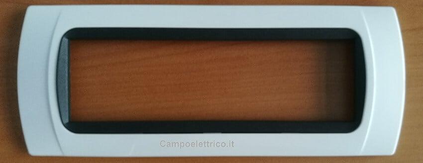 placca 7 posti compatibile ticino livinglight, international costo acquisto on line