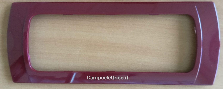 placchetta amaranto compatibile con serie biticino migliori promozioni offerte prezzi vendita online