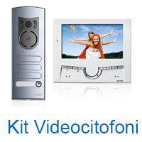 kit videocitofonici con videocitofono marca elvox vimar prezzi on line