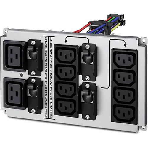 gruppo di continuità ingressi, connettori, porte IEC 320 C13