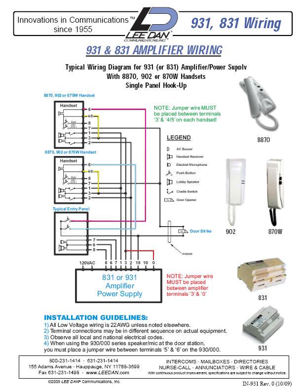 elvox 902 schema