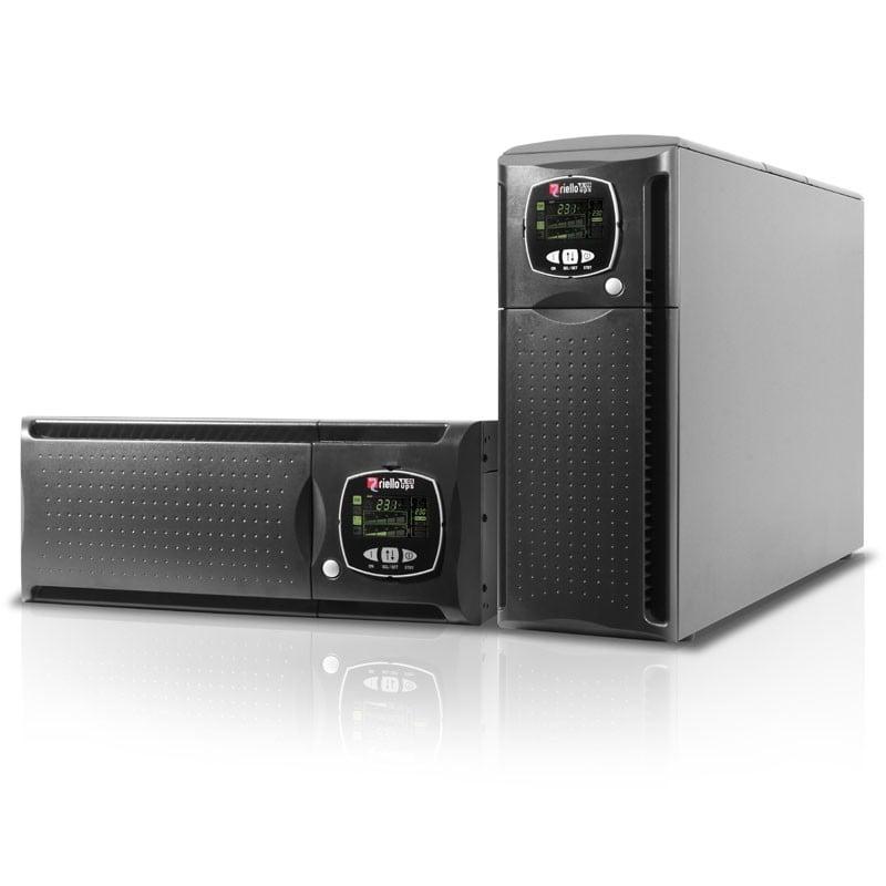 gruppo di continuità sentinel dual 4000va, doppia conversione online per server computer pc rack e tower