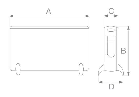 dimensioni e misure modello vortice 70201 caldore migliori prezzi online